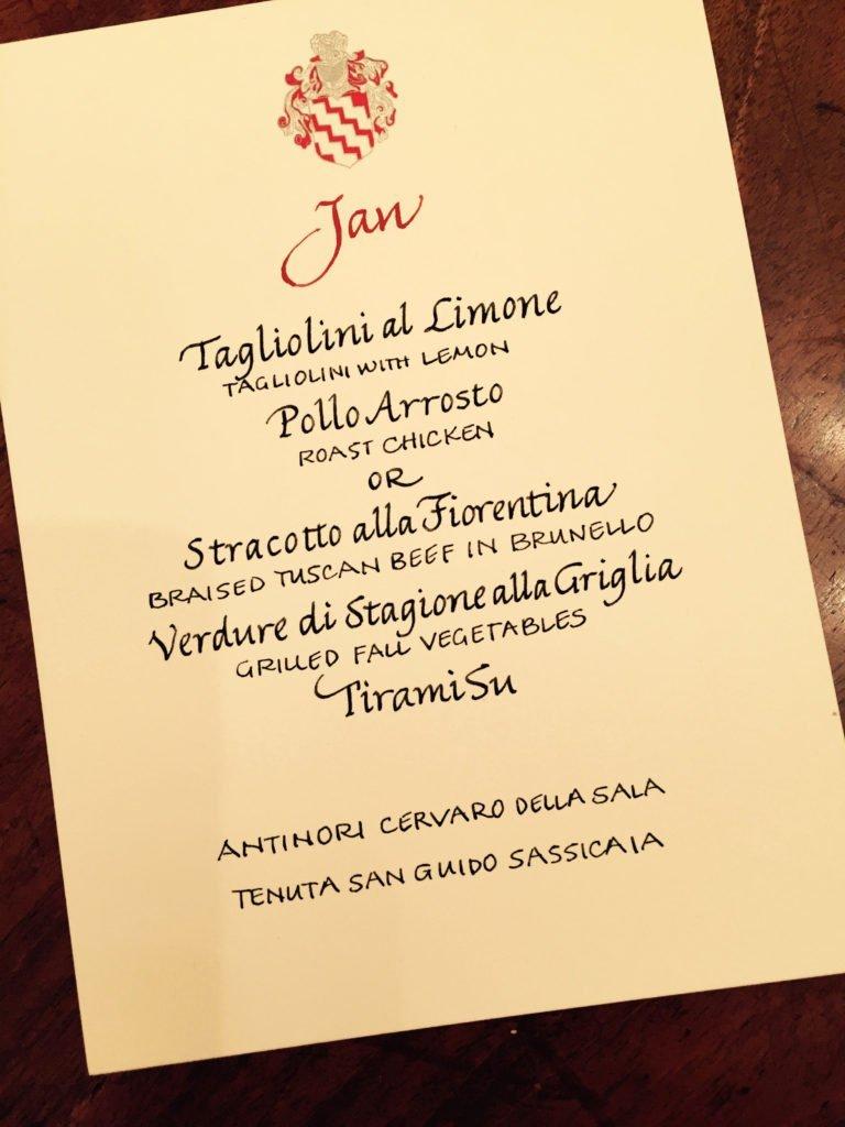 Birthday Celebration in Italy