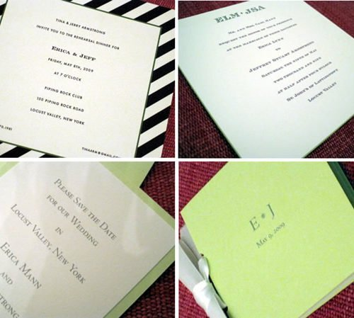 Wedding Suite | Save the Date, Wedding Invitation, Rehearsal Dinner Invitation and Wedding Program Book