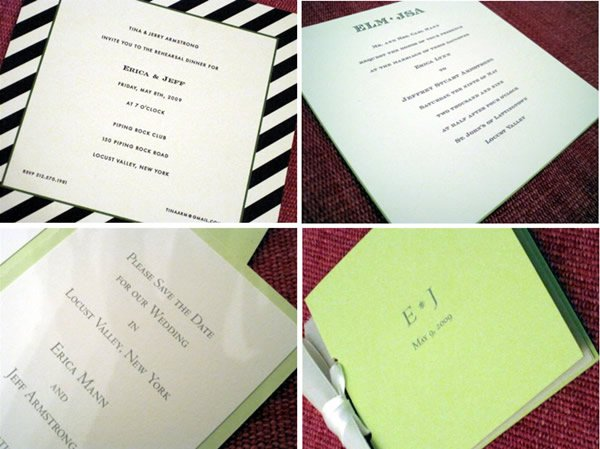 Wedding Suite Save The Date Invitation Rehearsal Dinner And Program